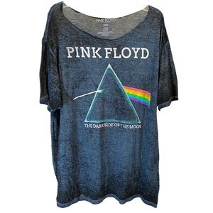 PINK FLOYD 2XL The Dark Side of the Moon Burnout